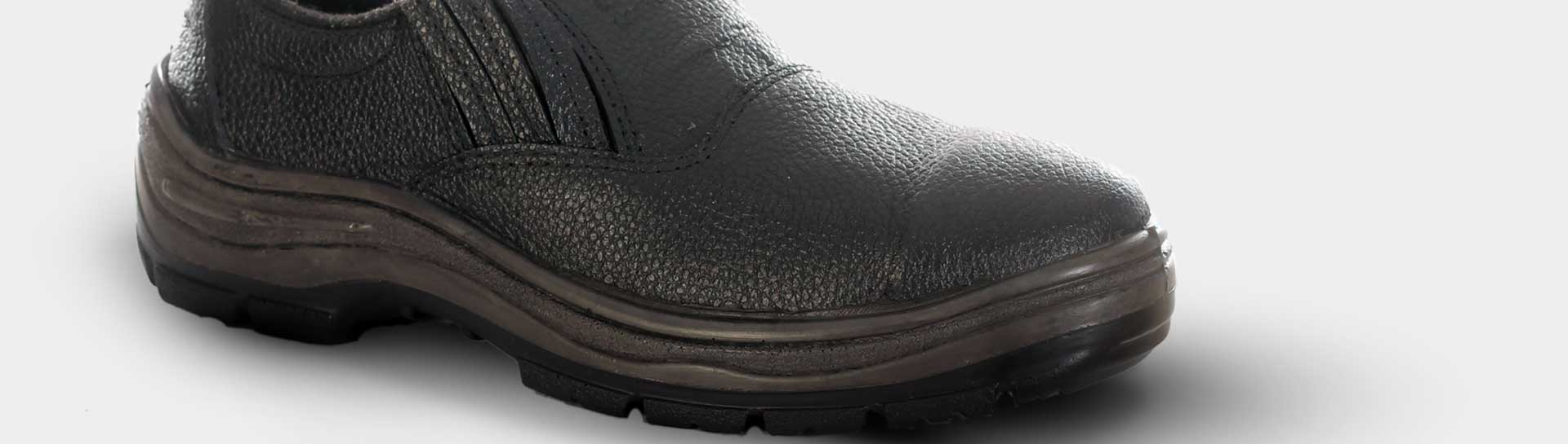 Sapato de Segurança Modelo com Elástico   WorkEPIs